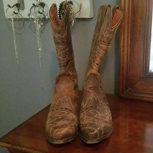 Mens Dan Post Leather Boots